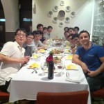 SMART Group dinner 2012 (Singapore)