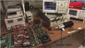 Outphasing VHF inverter system