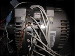 High-Efficiency 42 V Alternator with Integrated Switched-Mode Rectifier