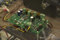 Microinverter: Series energy buffer block