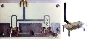 2.45 GHz resonant rectifier system incorporating a Transmission-Line Resistance Compression Network for wireless power transfer