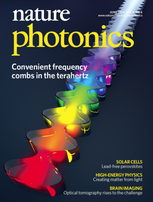Nature Photonics Cover